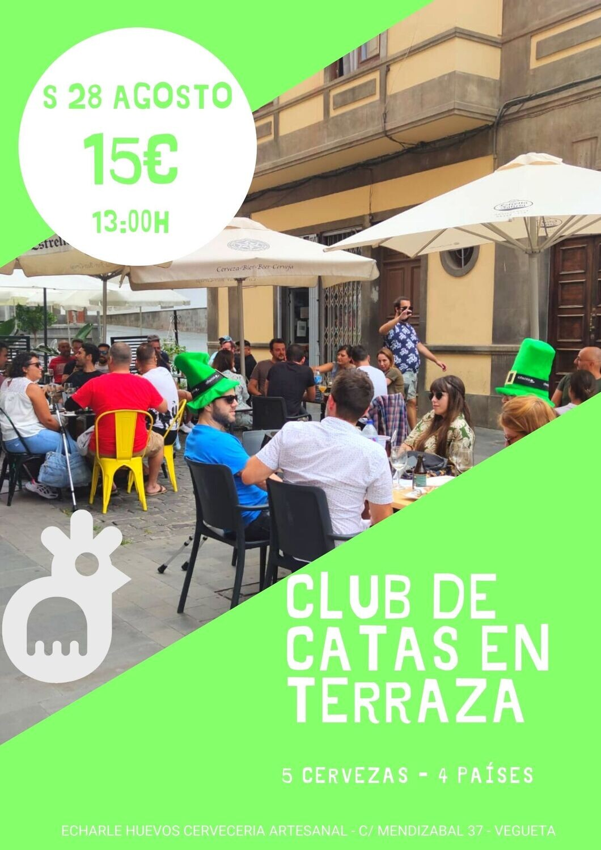CLUB DE CATAS en nuestra terracita S 28 AGOSTO
