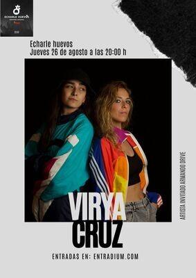 VIRYA CRUZ EN CONCIERTO - J 26 AGOSTO 20.00H - SOLD OUT