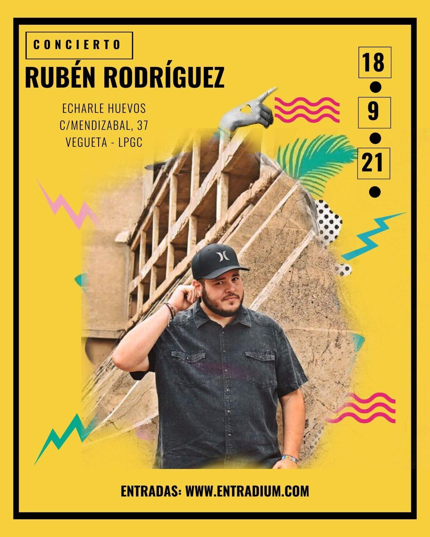 RUBEN RODRIGUEZ EN CONCIERTO - S 18 SEPTIEMBRE 20.00H