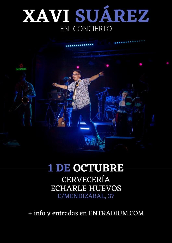 XAVI SUAREZ EN CONCIERTO - V 1 OCTUBRE 20.00H