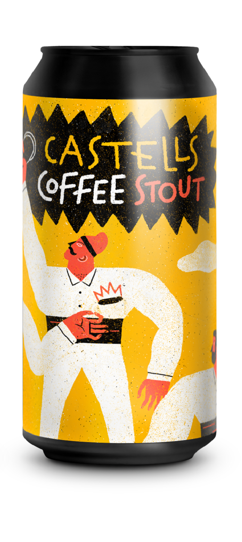 GUINEU / LA QUINCE CASTELLS COFFEE STOUT colab. AEROPRESS SPAIN