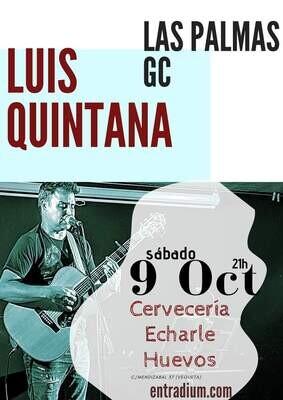LUIS QUINTANA EN CONCIERTO - S 9 OCTUBRE 20.00H