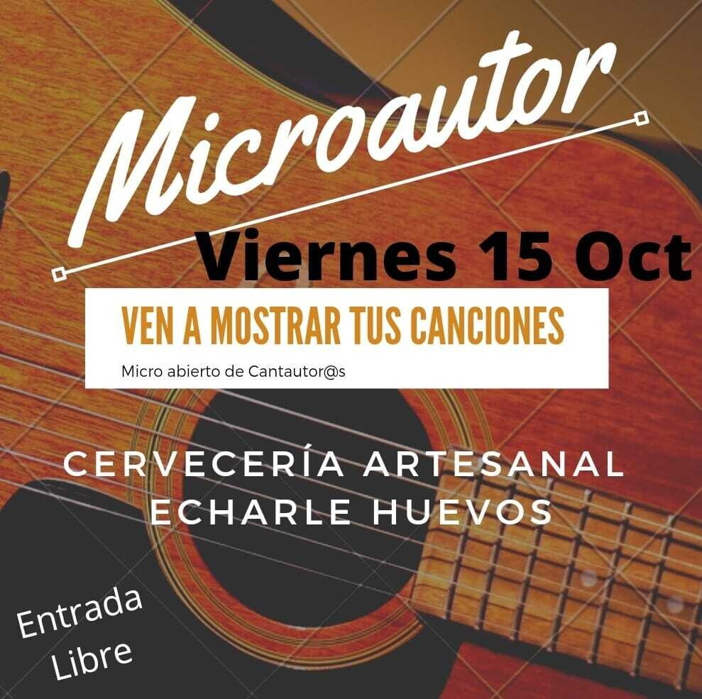 MICROAUTOR - V 15 OCTUBRE 21.00H