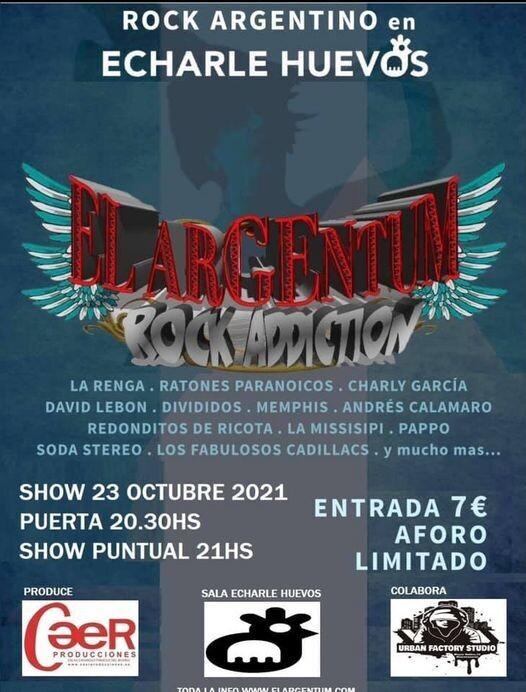 ELARGENTUM : ROCK ARGENTINO - S 23 OCTUBRE