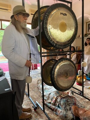 PRIVATE SESSION WITH DON CONREAUX: 1 hour private Session Holistic Gong Health with Gongmaster Don Conreaux & moderated by Yaelle E. Shaphir, L.Ac