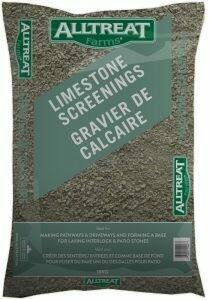 LIMESTONE SCREENING - 18 KG BAG