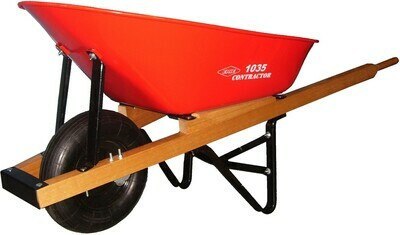 ERIE CONTRACTOR WHEELBARROW 6 CU FT