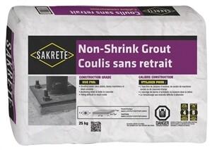 SAKRETE NON-SHRINK GROUT 25KG