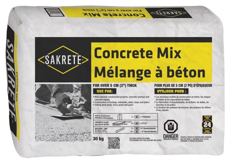 SAKRETE CONCRETE MIX 30 KG