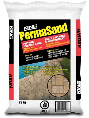KING PERMASAND BROWN 25KG