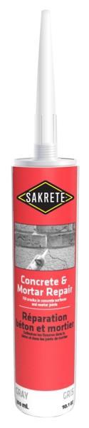 SAKRETE CONCRETE & MORTAR REPAIR TUBE