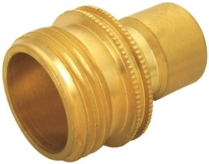 "3/4"" BRASS MALE QUICK CONNECTOR"