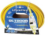 12/3 OUTDOOR EXTENSION CORD (50')
