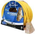 12/3 OUTDOOR EXTENSION CORD 3 OUTLET (30')