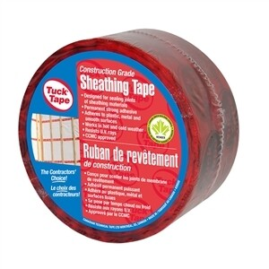 RED TUCK TAPE ROLL (66M)