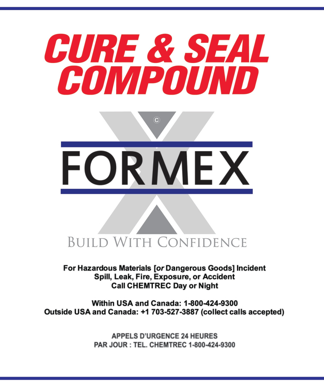 FORMEX CURE N' SEAL 18.9L PAIL