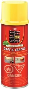 GREAT STUFF GAPS N' CRACK SPRAY FOAM