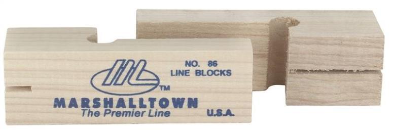 MARSHALLTOWN MASONRY LINE BLOCK