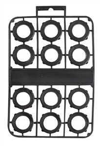 12PC PVC  HOSE WASHER SET