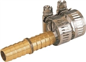 """1/2"""" HOSE MENDER WITH CLAMPS"""