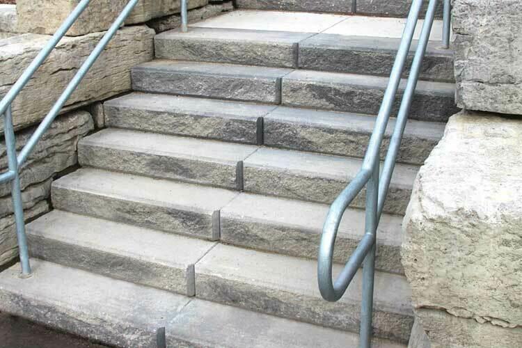 RIDGE STEP - GREY MIX