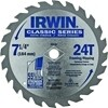 "IRWIN CIRC. SAW BLADE 7- 1/4"" 24T CARBIDE"