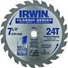 """IRWIN CIRC. SAW BLADE 7- 1/4"""" 24T CARBIDE"""