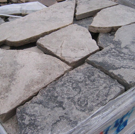 "RANDOM FLAGSTONE, GREY/BROWN, 1""-2"" THICK"