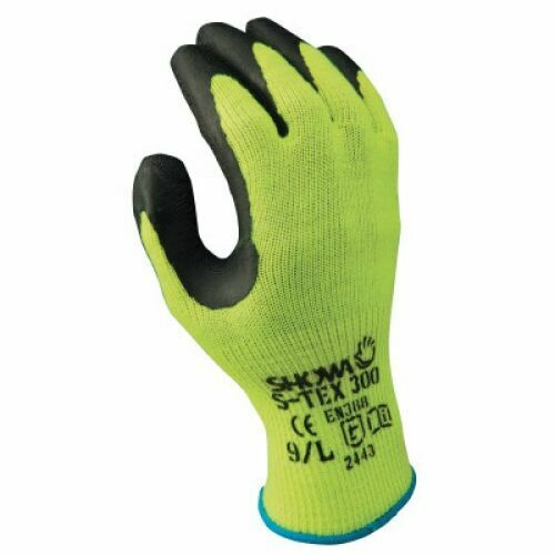 MEDIUM HIGH VIZ GLOVES