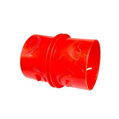 "4"" WEEPING TILE COUPLING INSERT"