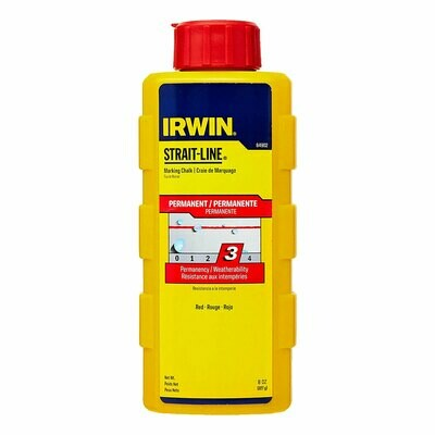 IRWIN 8OZ RED CHAULK REFILL