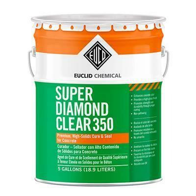 EUCLID SUPER DIAMOND CLEAR 350 SEALER - 5 GAL