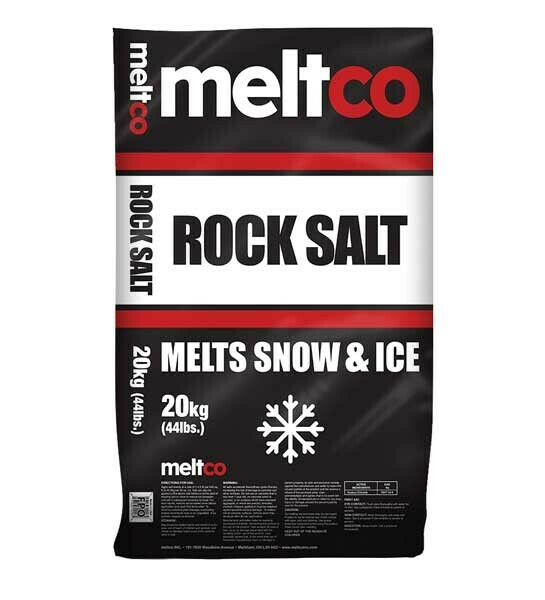 MELTCO ROCK SALT - 20 KG