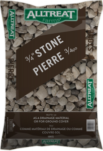 """3/4"""" CLEAR STONE - 18KG"""