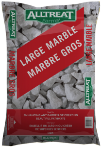 LARGE MARBLE WHITE STONE - 18KG