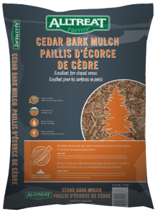 CEDAR BARK MULCH - 2 CU FT