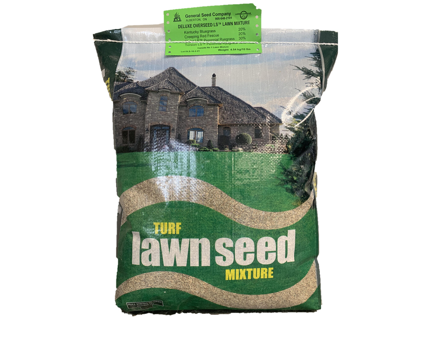 DELUXE OVERSEED LS GRASS SEED - 10LB BAG