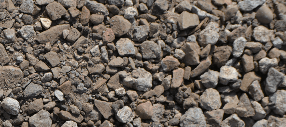 1/2 YARD 3/4 CRUSHED GRAVEL (A)