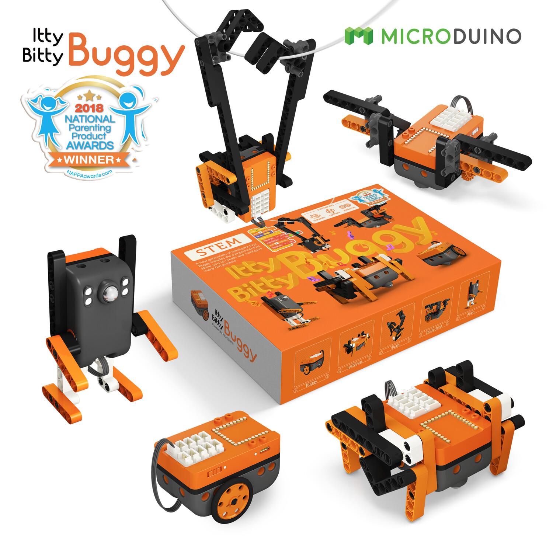 Kit de Robótica Microduino Itty Bitty Buggy + 8 años