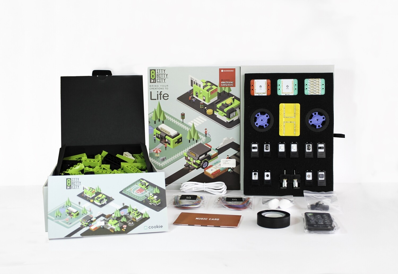 Kit de robótica Microduino Itty Bitty City + 9 años
