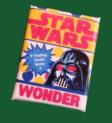 Star Wars Wonder Bread Wax Pack series 2!