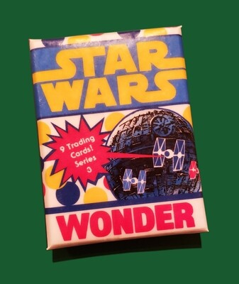Star Wars Wonder Bread Wax Pack series 3!