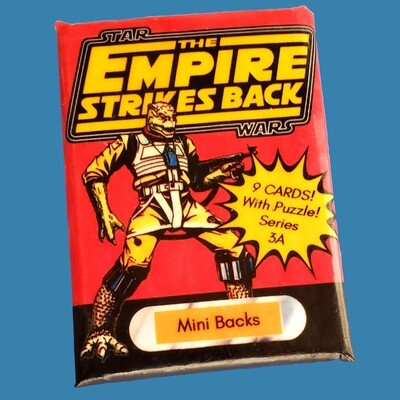 Star Wars Mini Back Wax Pack Series 3A