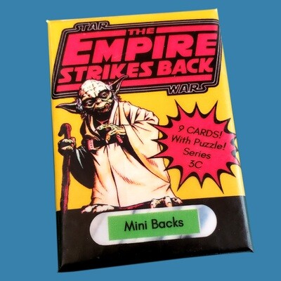 Star Wars Mini Back Wax Pack Series 3C
