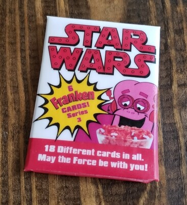 C Franken Berry Star Wars Wax Pack Series 3!