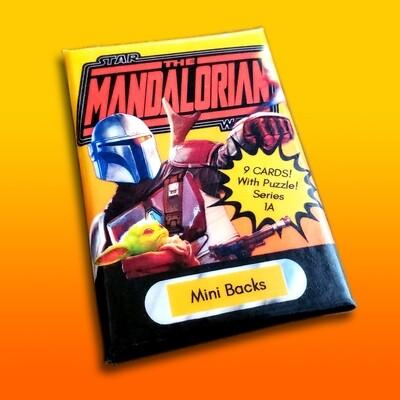 Star Wars Mini Back Wax Pack Mandalorian  1A (DURASTEEL)