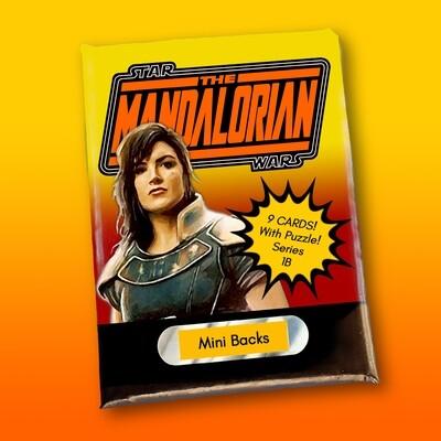 Star Wars Mini Back Wax Pack Mandalorian 1B (CARA DUNE)
