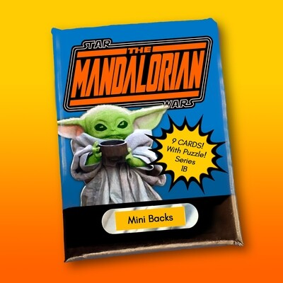 Star Wars Mini Back Wax Pack Mandalorian 1B (BABY YODA)
