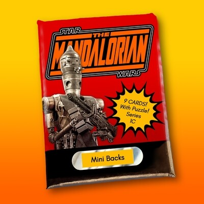 Star Wars Mini Back Wax Pack Mandalorian 1C (IG-11)