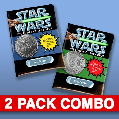 Star Wars Mini Back Wax Pack series 5 Combo